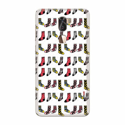Socks Pattern Back Cover for Coolpad Cool 1