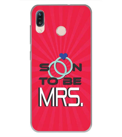 Soon to be Mrs. Back Cover for Asus Zenfone Max Pro M1