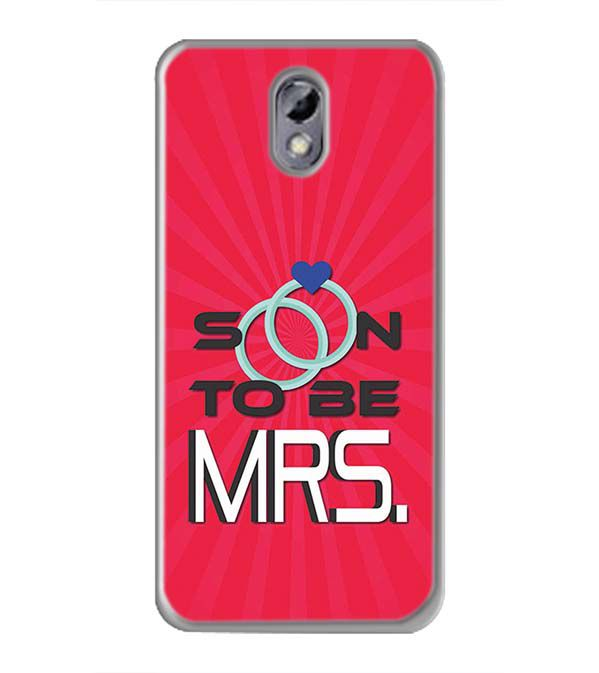 save off 8056c 092a1 Soon to be Mrs. Soft Silicone Back Cover for Comio C2 Lite