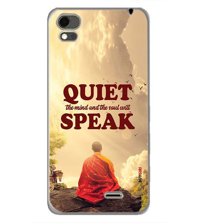 Soul Will Speak Back Cover for Karbonn Aura Note 4G