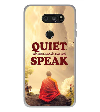 Soul Will Speak Back Cover for LG V30 Plus-Image3