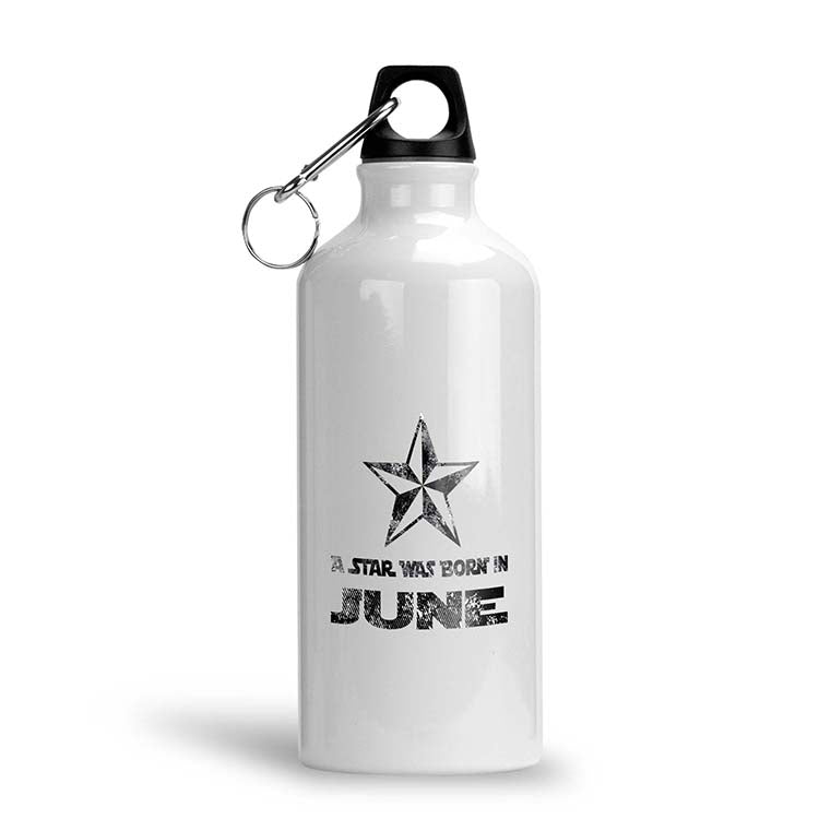 Star Born Customised Month Water Bottle