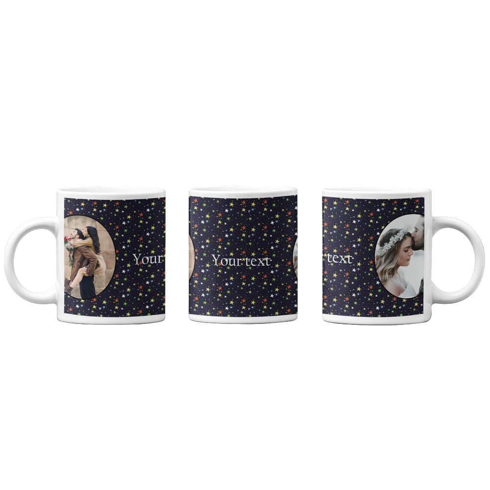 Stars and Photo Coffee Mug