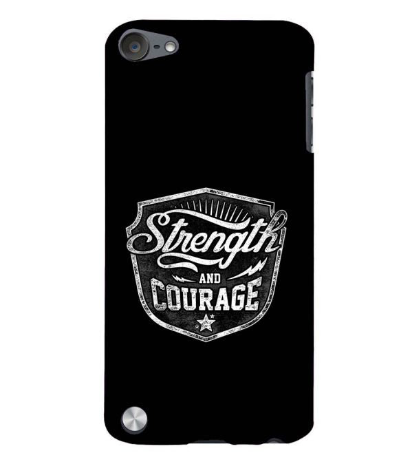 Strength and Courage Back Cover for Apple iPod Touch 5