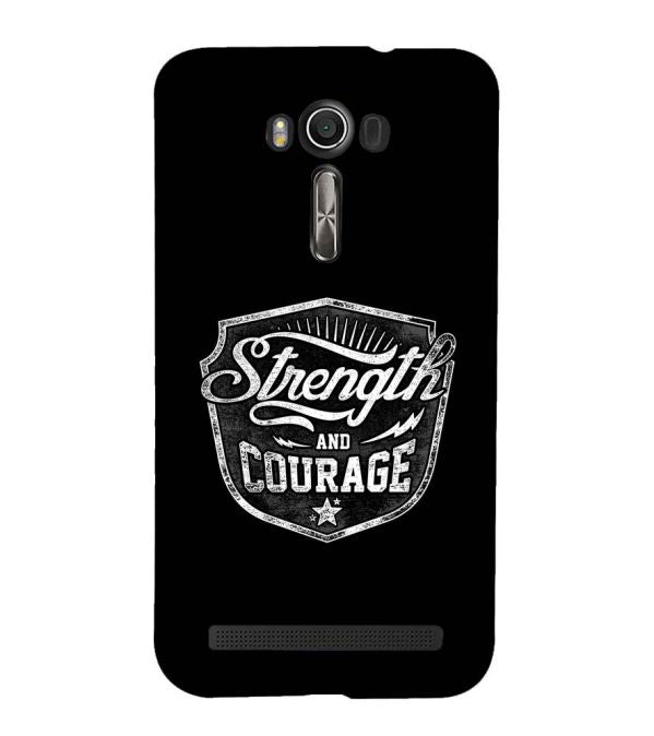 Strength and Courage Back Cover for Asus Zenfone 2 Laser ZE550KL