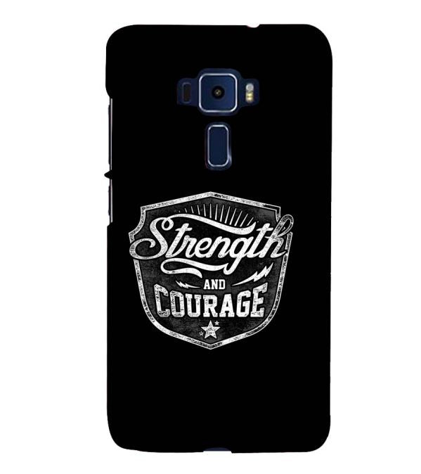 Strength and Courage Back Cover for Asus Zenfone 3 ZE520KL