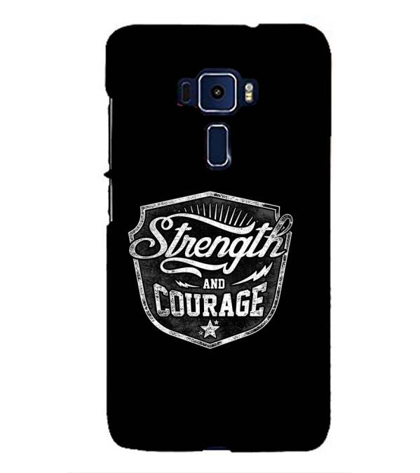 Strength and Courage Back Cover for Asus Zenfone 3 ZE552KL