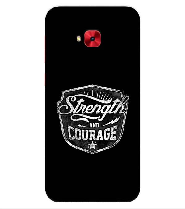 Strength and Courage Back Cover for Asus Zenfone 4 Selfie