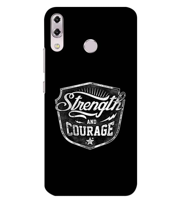 Strength and Courage Back Cover for Asus Zenfone 5z ZS620KL