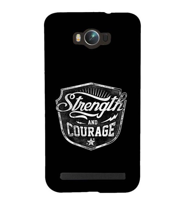 Strength and Courage Back Cover for Asus Zenfone Max ZC550KL