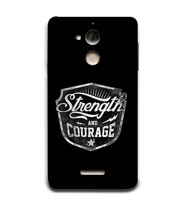 Strength and Courage Back Cover for Coolpad Note 5