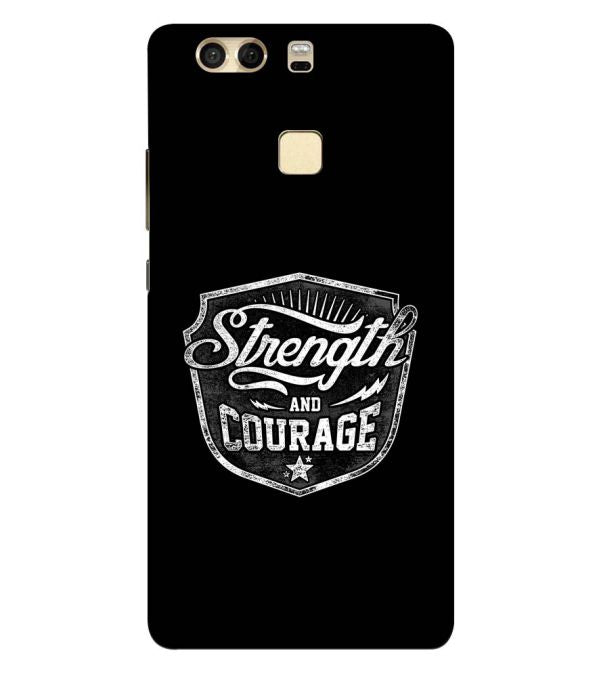 Strength and Courage Back Cover for Huawei P9