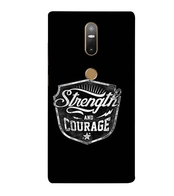 Strength and Courage Back Cover for Lenovo Phab 2 Plus