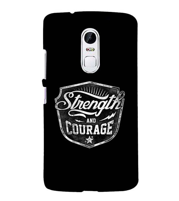 Strength and Courage Back Cover for Lenovo Vibe X3