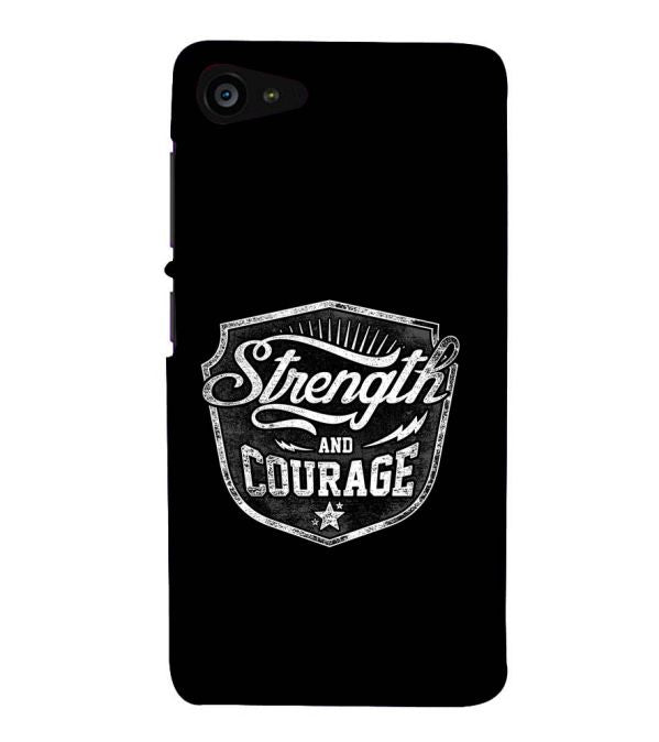 Strength and Courage Back Cover for Lenovo ZUK Z2