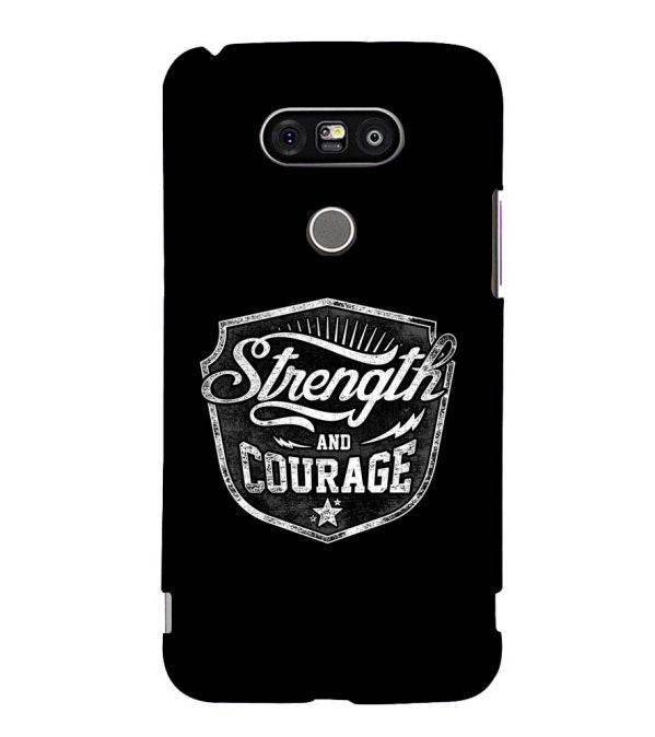Strength and Courage Back Cover for LG G5