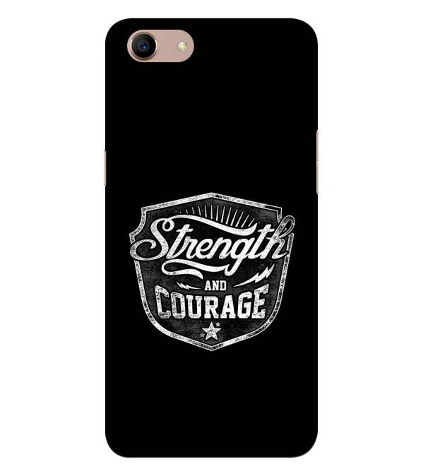 Strength and Courage Back Cover for Oppo A83