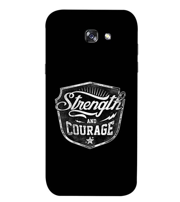 Strength and Courage Back Cover for Samsung Galaxy A5 (2017)