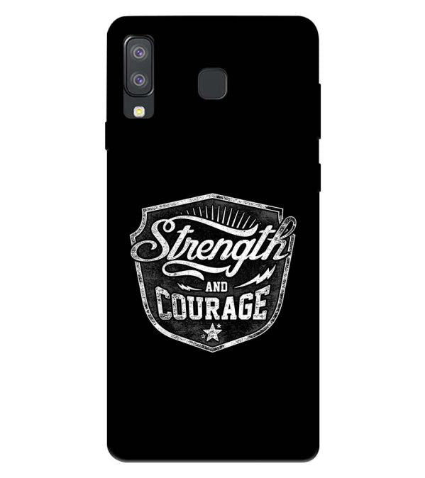 Strength and Courage Back Cover for Samsung Galaxy A8 Star