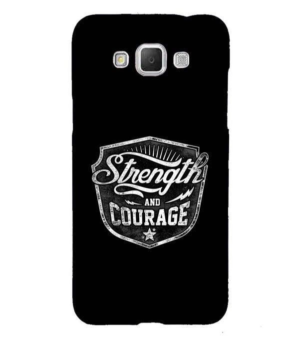 Strength and Courage Back Cover for Samsung Galaxy Grand Max G720