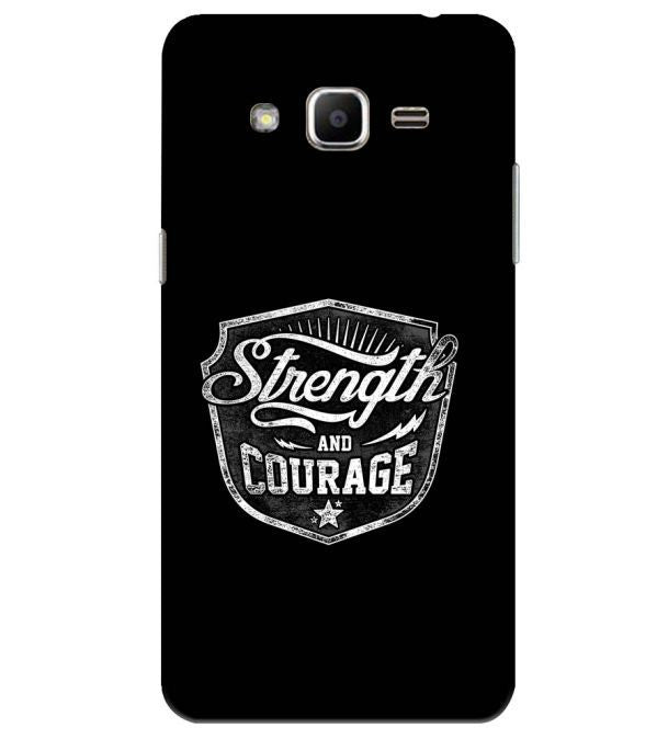 Strength and Courage Back Cover for Samsung Galaxy J2 Ace