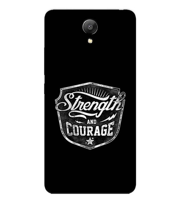 Strength and Courage Back Cover for Xiaomi Redmi Note 2