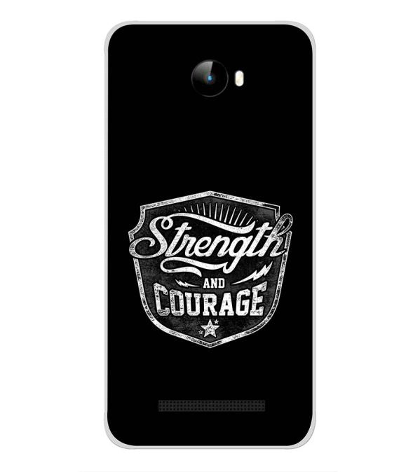 Strength and Courage Back Cover for Intex Staari 11-Image3
