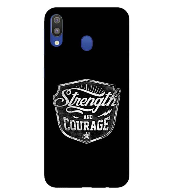 Strength and Courage Back Cover for Samsung Galaxy M20