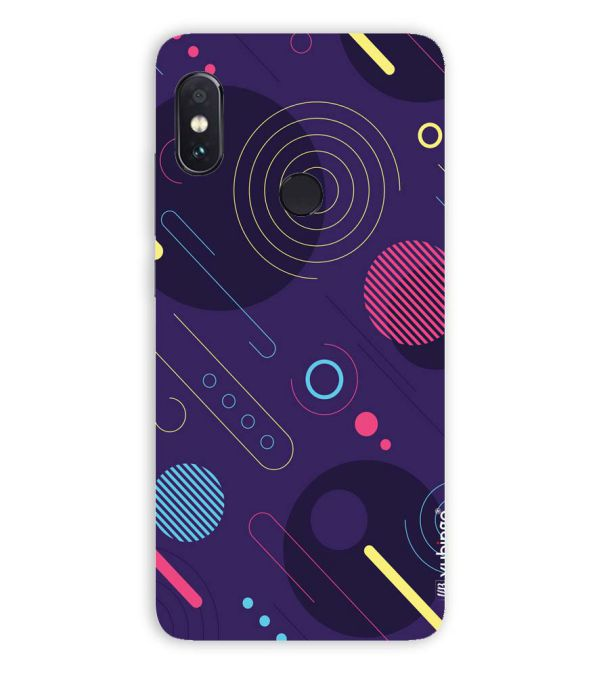 Stylish Pattern Back Cover for Xiaomi Redmi Note 5 Pro