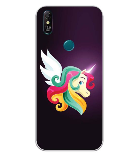 Stylish Unicorn Back Cover for Coolpad Cool 3 Plus-Image3