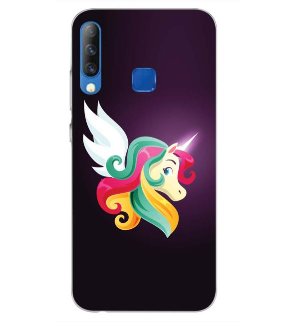 Stylish Unicorn Back Cover for Infinix S4-Image3