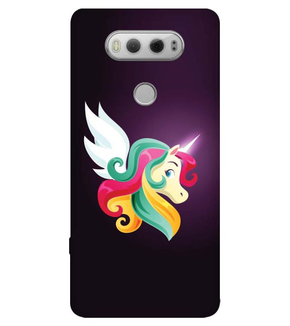 Stylish Unicorn Back Cover for LG V20