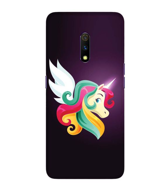Stylish Unicorn Back Cover for Realme X