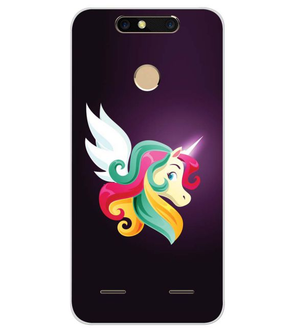 best service 82176 0c785 Unicorn Collection Back Cover for ZTE Blade V8 Mini