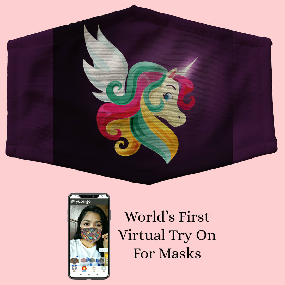 Stylish Unicorn Mask