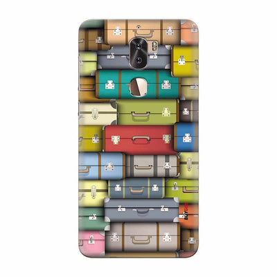 Suitcases Back Cover for Coolpad Cool 1