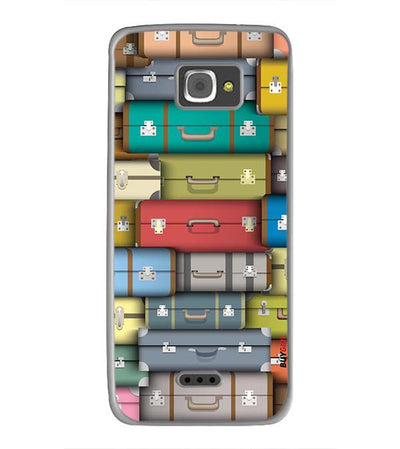 Suitcases Back Cover for InFocus M350