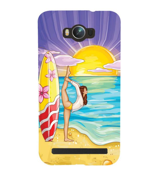 Sunrise with Yoga Back Cover for Asus Zenfone Max ZC550KL