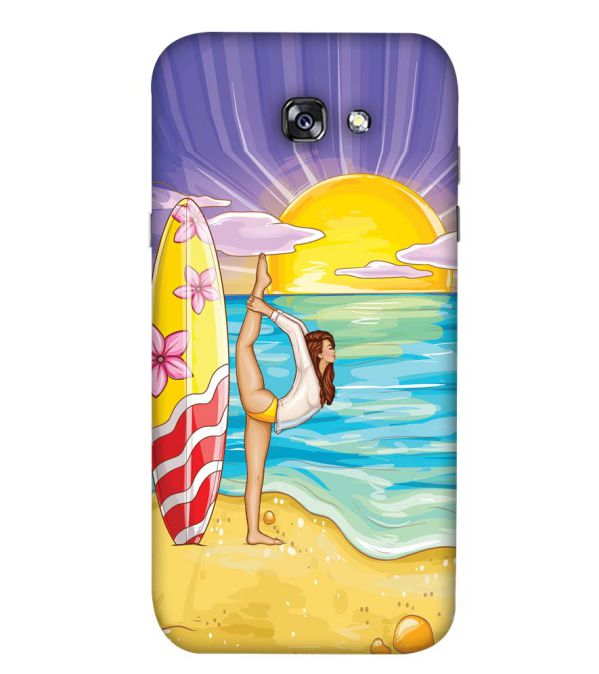 Sunrise with Yoga Back Cover for Samsung Galaxy A5 (2017)