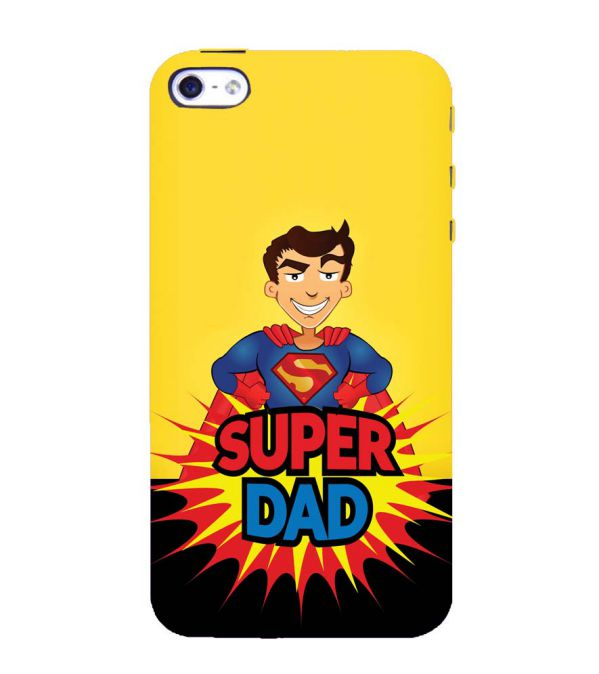 Super Dad Back Cover for Apple iPhone 4 : 4S