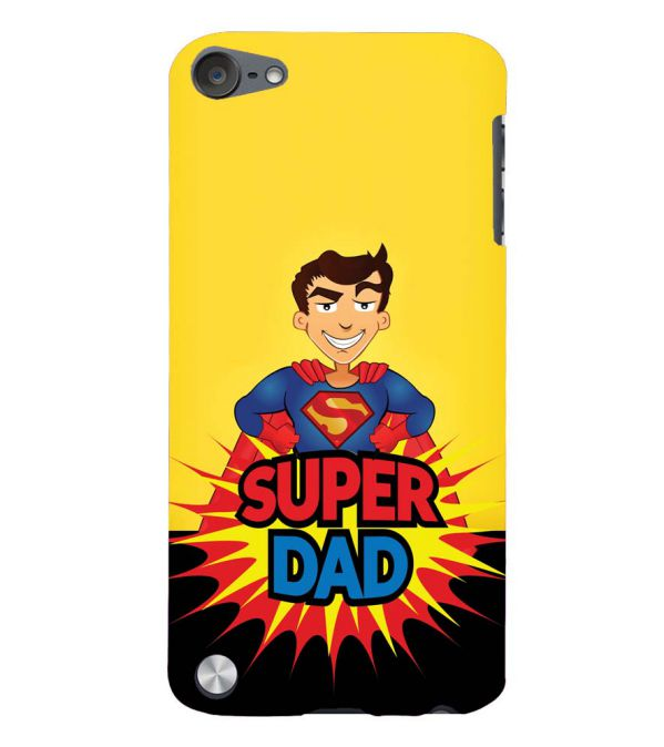 Super Dad Back Cover for Apple iPod Touch 5