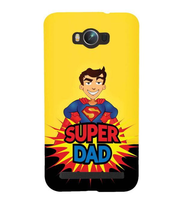 Super Dad Back Cover for Asus Zenfone Max ZC550KL