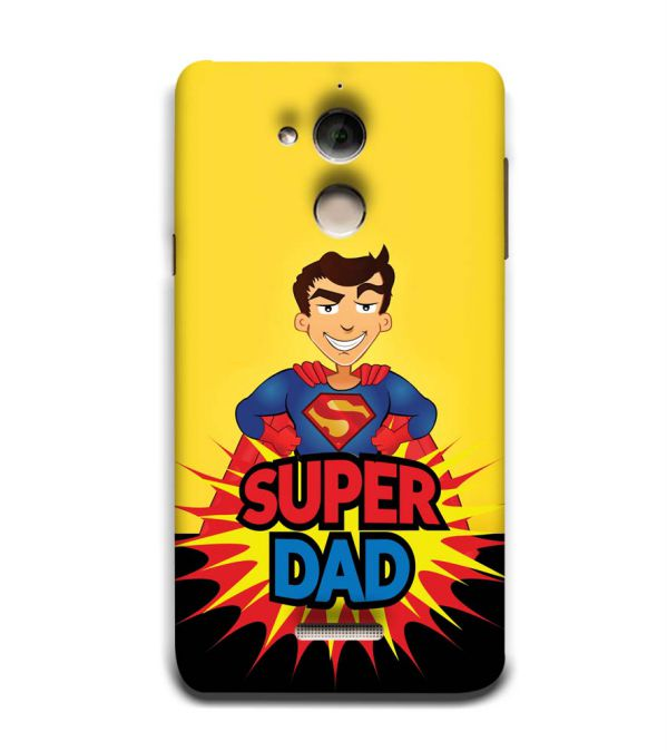 Super Dad Back Cover for Coolpad Note 5