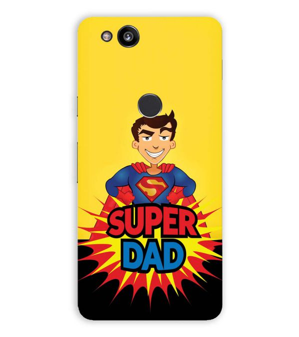 Super Dad Back Cover for Google Pixel 2 (5 Inch Screen)