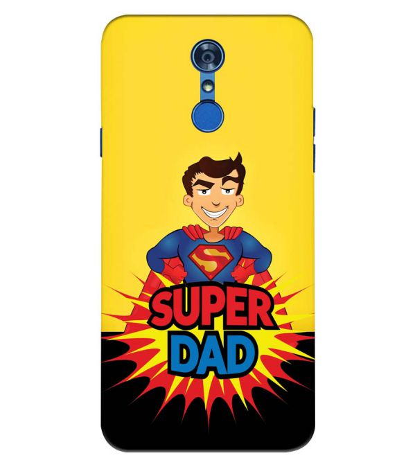 Super Dad Back Cover for LG Q7