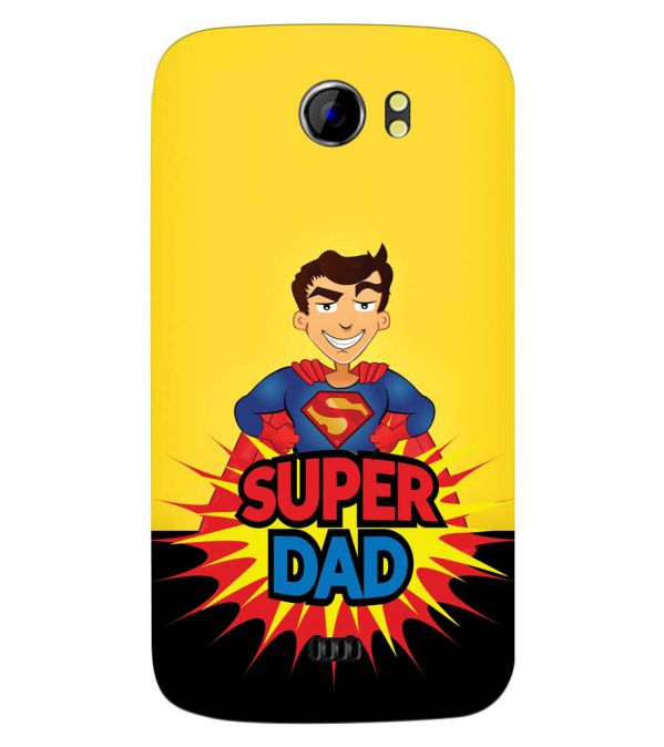 Super Dad Back Cover for Micromax A110 Canvas 2
