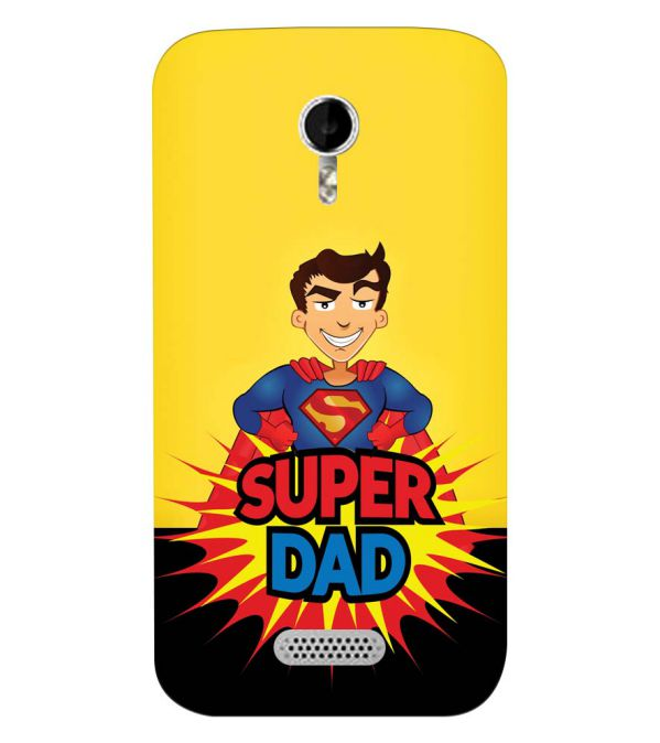 separation shoes d5e70 d7530 YuBingo - Buy Super Dad Customised Cover for Micromax A116 Canvas HD ...