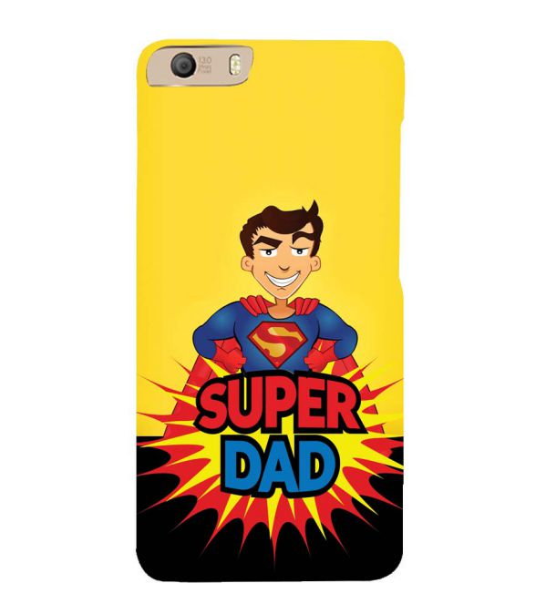 sports shoes d9def bb662 Super Dad Back Cover for Micromax Canvas Knight 2 E471