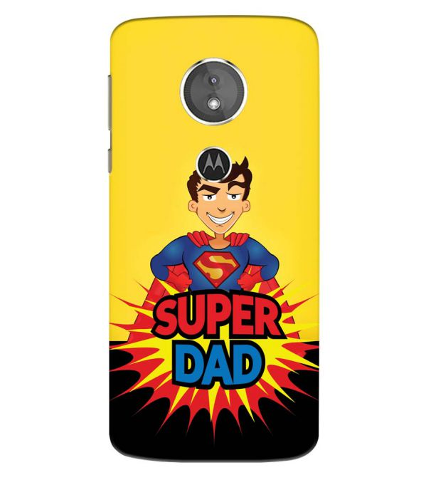 Super Dad Back Cover for Motorola Moto E5 Play