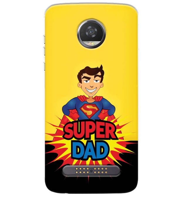 Super Dad Back Cover for Motorola Moto Z3 Play